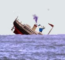 sinking shipB