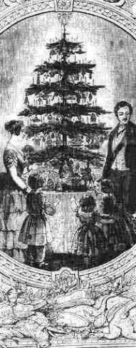 the V and A Christmas Tree